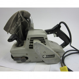 Rockwell dustless belt sander