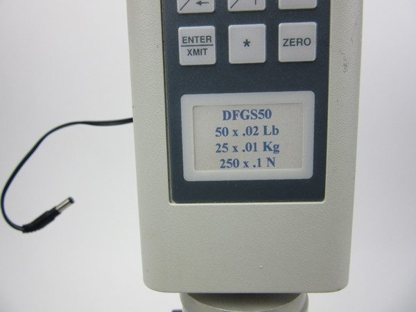 CHATILLON DIGITAL FORCE GAUGE DFGS50 WITH TEST STAND