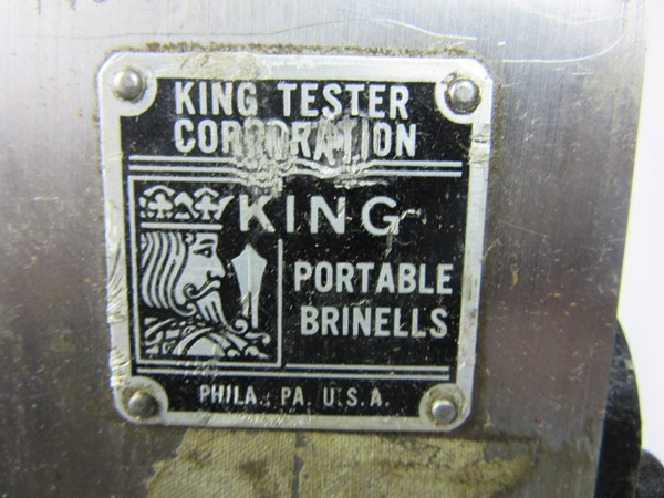 King Portable Brinells