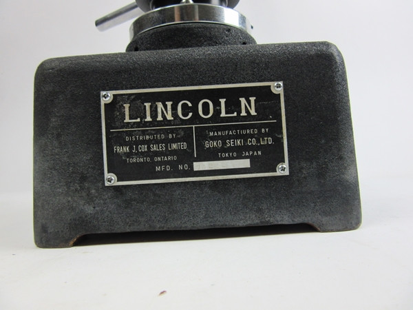Rockwell(Lincoln) Hardness Tester