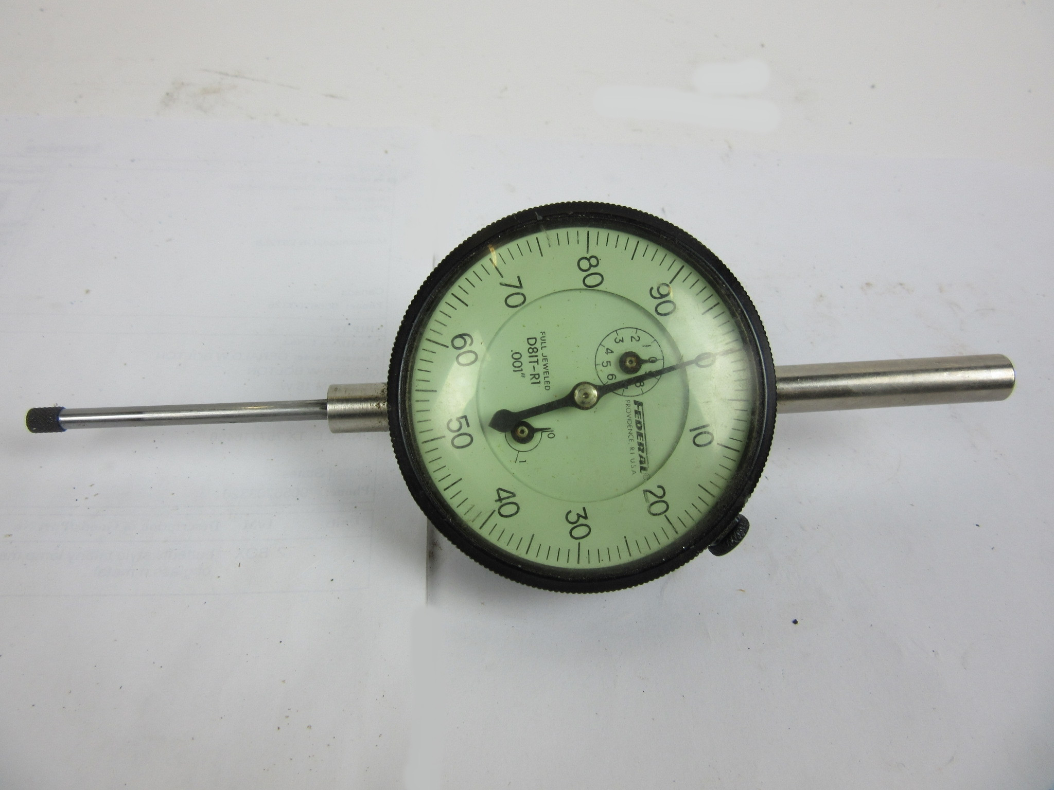 Federal Indicator Travel Products : Federal dial indicator without box